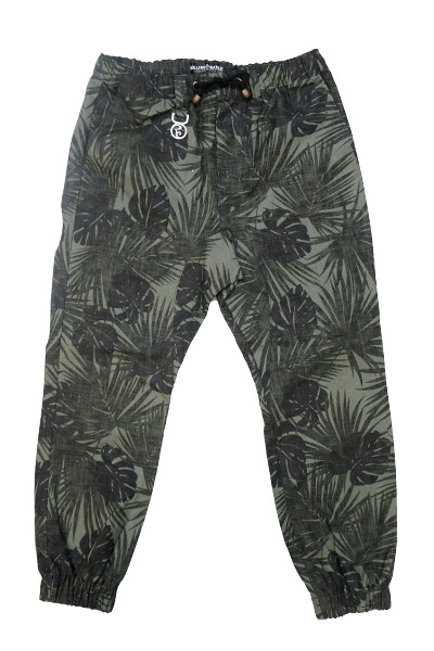 ROLLING CRADLE RC JOGGER PANTS / Green-Black