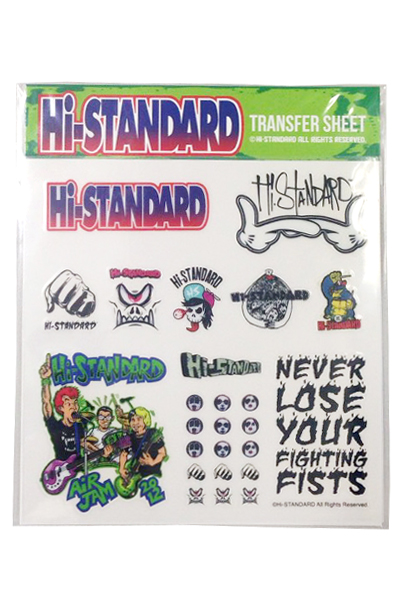 Hi-STANDARD HS MINI STICKER