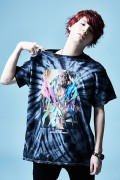Zephyren(ゼファレン)S/S TEE - GIRL TATTOO - BLACK / TIE DIE