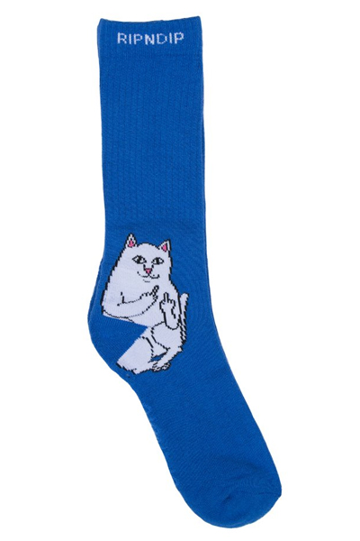 RIPNDIP Lord Nermal Socks (Royal)