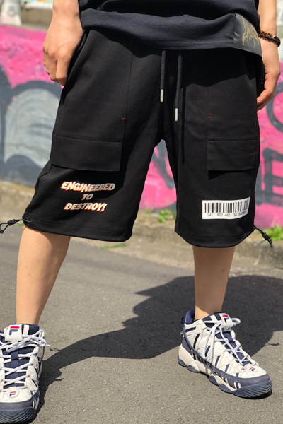 MISHKA MSS190840 SHORT BLACK