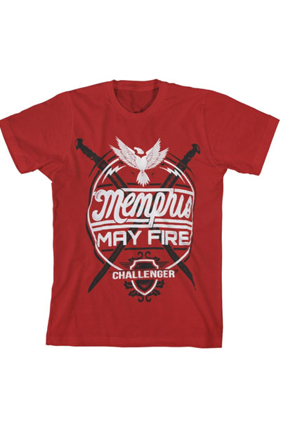 MEMPHIS MAY FIRE Challenger Red - T-Shirt