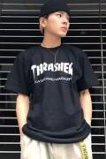 THRASHER TH8101 Mag LogoTee BK/WH