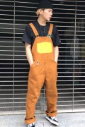 ROLLING CRADLE CANVAS NEON OVERALL / Brown