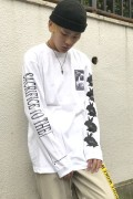 SILLENT FROM ME SACRIFICE -Long Sleeve- WHITE