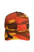"LILWHITE(dot) LW-19SU-H03 ""NOT A PSYCHIC"" LOW CAP ORANGE-CAMO"