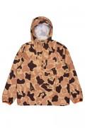RIPNDIP Nerm Camo Packable Anorak Jacket (Desert Camo)
