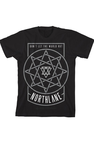 NORTHLANE Octogram Black - T-Shirt