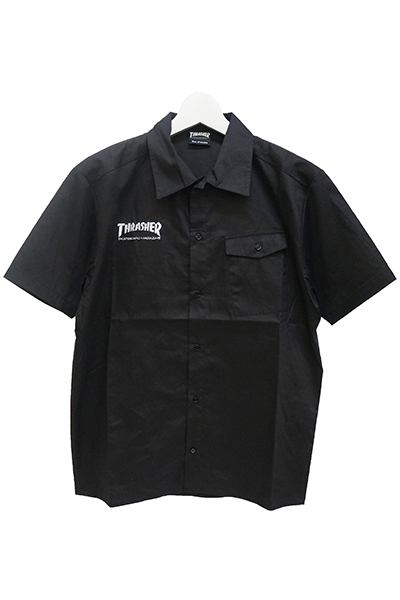 THRASHER TH5084S S/S SHIRT BLACK
