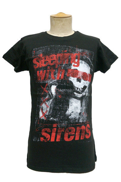 SLEEPING WITH SIRENS Punk Patch Black - Girls/JRS t-shirt