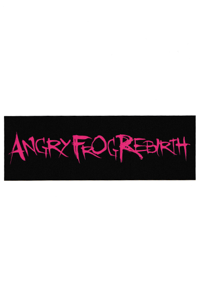 ANGRY FROG REBIRTH LOGO STICKER