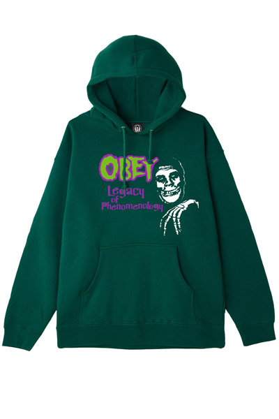 OBEY x Misfits Legacy of Phenome Pullover Hood GREEN