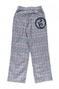 ROLLING CRADLE CHECK PANTS / Gray