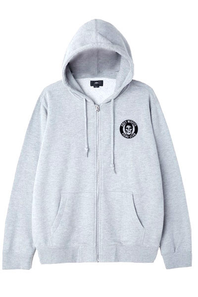 OBEY x Misfits Fiend Club Zip Hood GRAY
