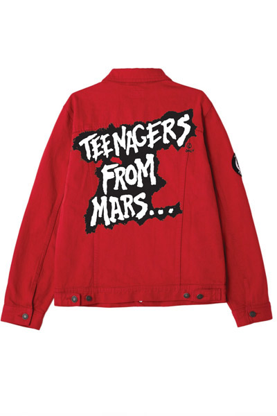OBEY x Misfits Teenagers From Mars Denim Jacket