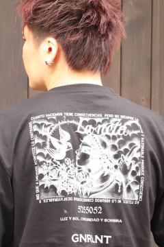 GoneR -La Neta- GRL04CT002 LUZ Y SOL T-Shirts Black