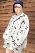 SLEEPING TABLET REVERIE [ PATTERNED PAJAMA SHIRTS ] GRAY