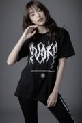 ZERO EVOKE Death metal Tee(BLACK)