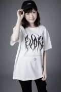 ZERO EVOKE Death metal Tee(WHITE)
