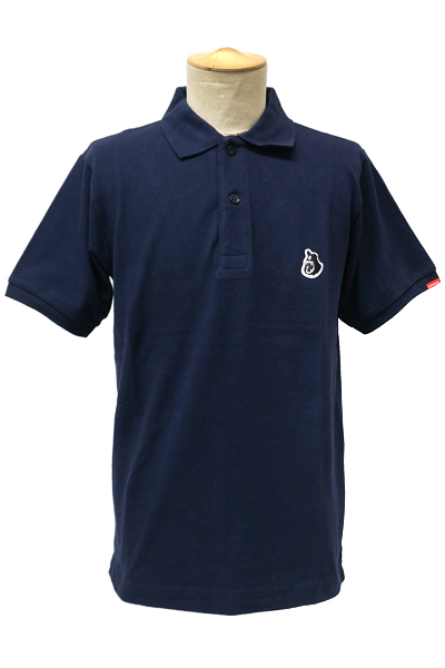 ROLLING CRADLE 90's BIG POLO SHIRTS / Navy