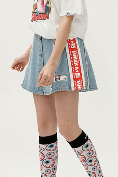 MISHKA MSS191034W SKIRT DENIM