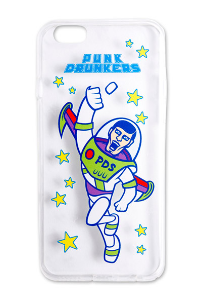 PUNK DRUNKERS 【PDSxTREST】TPU iPhone case(SPACEあいつ)