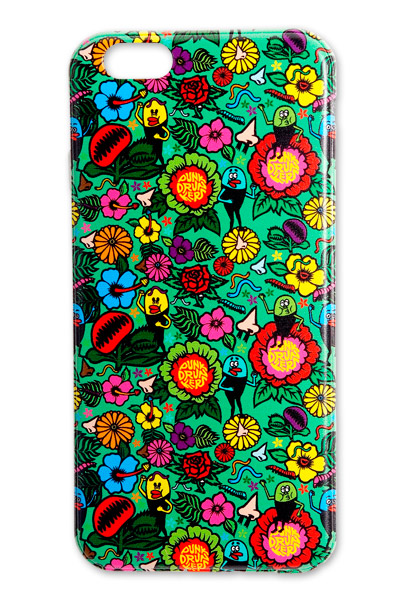 PUNK DRUNKERS 【PDSxTREST】TPU iPhone case(花の妖精)