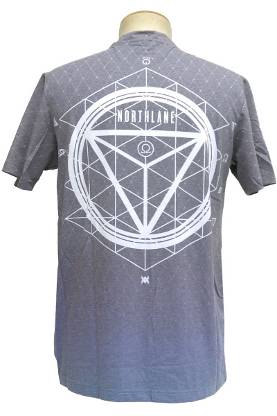 NORTHLANE All-Over Print Black - T-Shirt