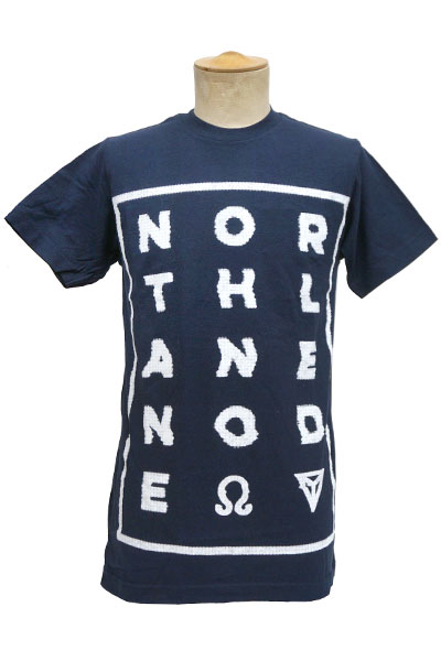 NORTHLANE Glitch Navy - T-Shirt