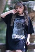 【予約商品】アマツカミ 闇猫/DARK CAT T-shirts BLACK
