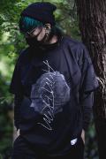 【予約商品】アマツカミ 枯花/DEAD FLOWER T-shirts BLACK