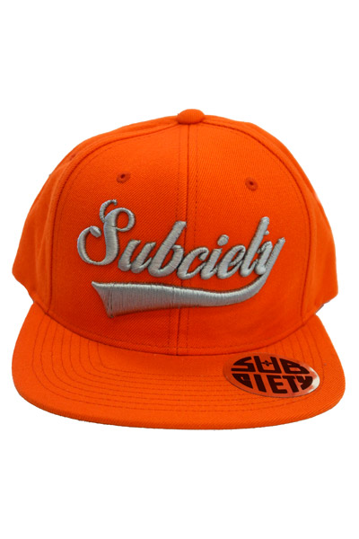 Subciety SNAP BACK CAP-GLORIOUS- ORANGE