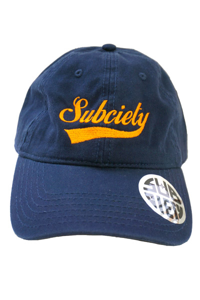 Subciety BALL CAP-GLORIOUS- NAVY