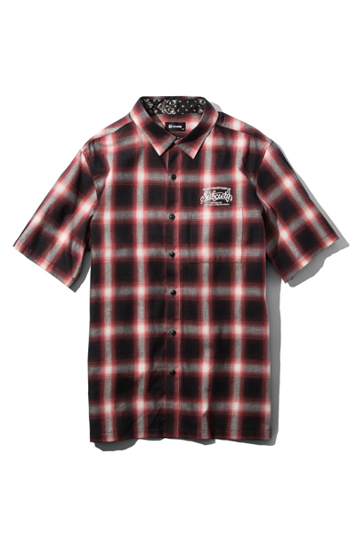 Subciety (サブサエティ) CHECK SHIRTS-BABYLON- RED