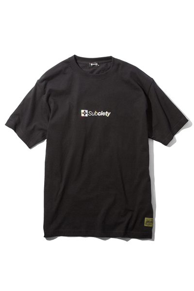 Subciety (サブサエティ) HOLOGRAM THE BASE S/S BLACK