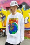 MISHKA NEW WORLD ORDER LONGSLEEVE WHITE