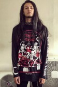 KILL STAR CLOTHING Raise The Dead Long Sleeve Top