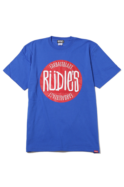 RUDIE'S DRAWING BALL-T BLUE