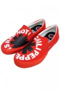 VISION STREET WEAR VSW-9158 VISION SLIP ON RHCP RED