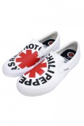 VISION STREET WEAR VSW-9158 VISION SLIP ON RHCP WHITE