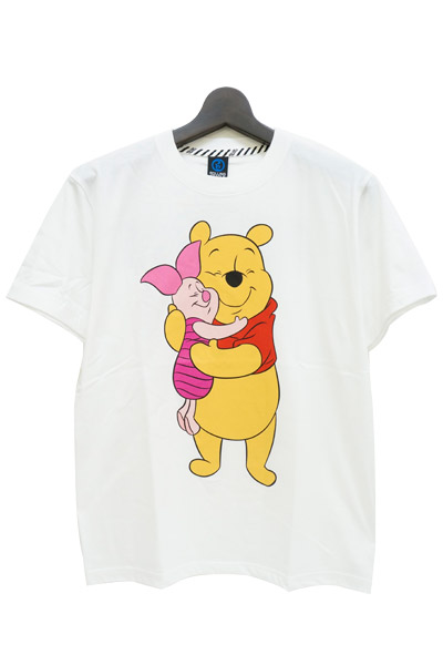 ROLLING CRADLE Pooh&Piglet T-SHIRT / White