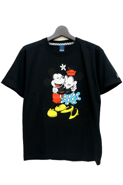 ROLLING CRADLE Mickey T-SHIRT / Black