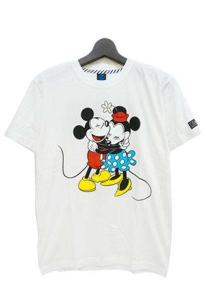 ROLLING CRADLE Mickey&Minnie T-SHIRT / White