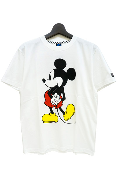 ROLLING CRADLE Mickey T-SHIRT / White