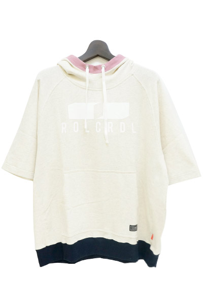 ROLLING CRADLE FAKE LAYERED HOODIE / White