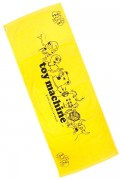 TOY MACHINE TMS18TW36 TOWEL YELLOW