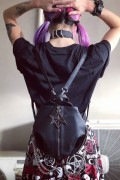 KILL STAR CLOTHING Sacred Sixx Backpack
