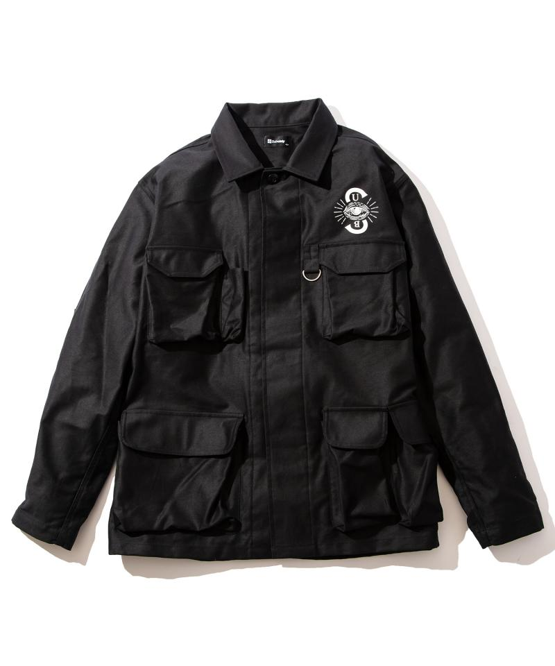 【予約商品】Subciety BDU JACKET BLACK