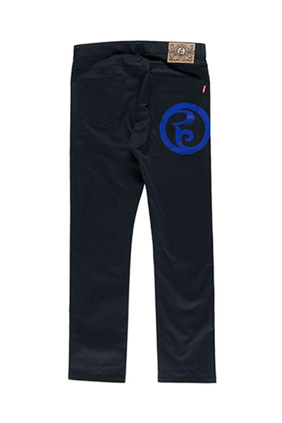 ROLLING CRADLE RC SKINNY PANTS / Black