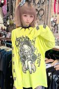 HYPER CORE CROISSANT ロングスリーブTシャツ YELLOW
